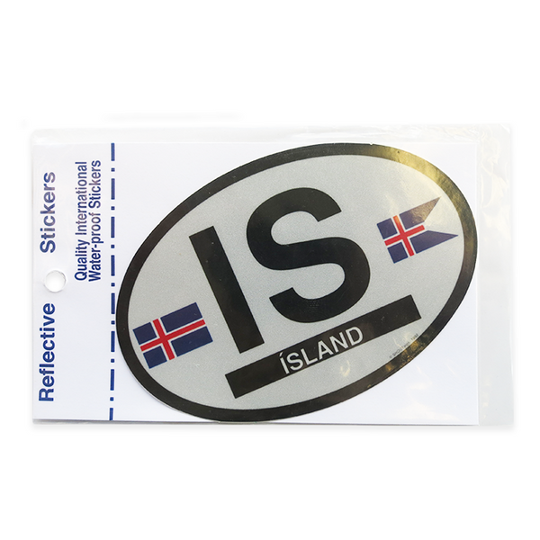 Oval Decal - Iceland