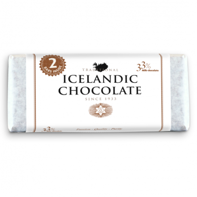 Icelandic Chocolate, 33% Milk Chocolate