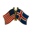 Friendship Lapel - USA/Iceland
