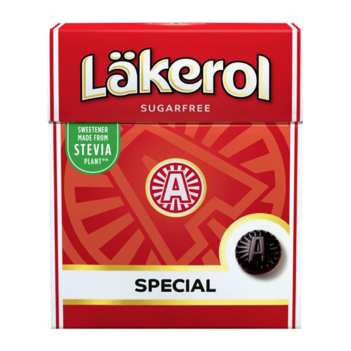 Menthol Licorice Sugar-free Pastilles