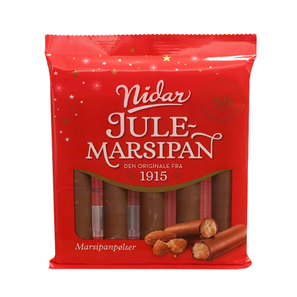 Christmas Marzipan Sausages