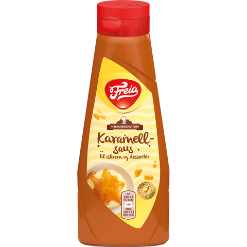 Caramel Topping by Freia - 360g