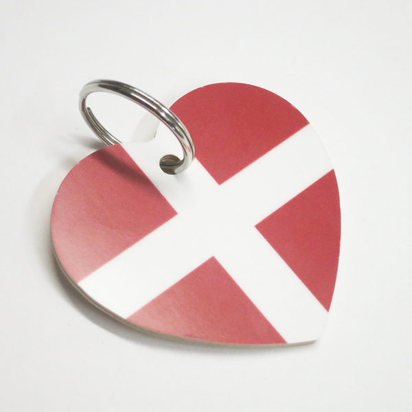"Heart Keychain ""Danish"""