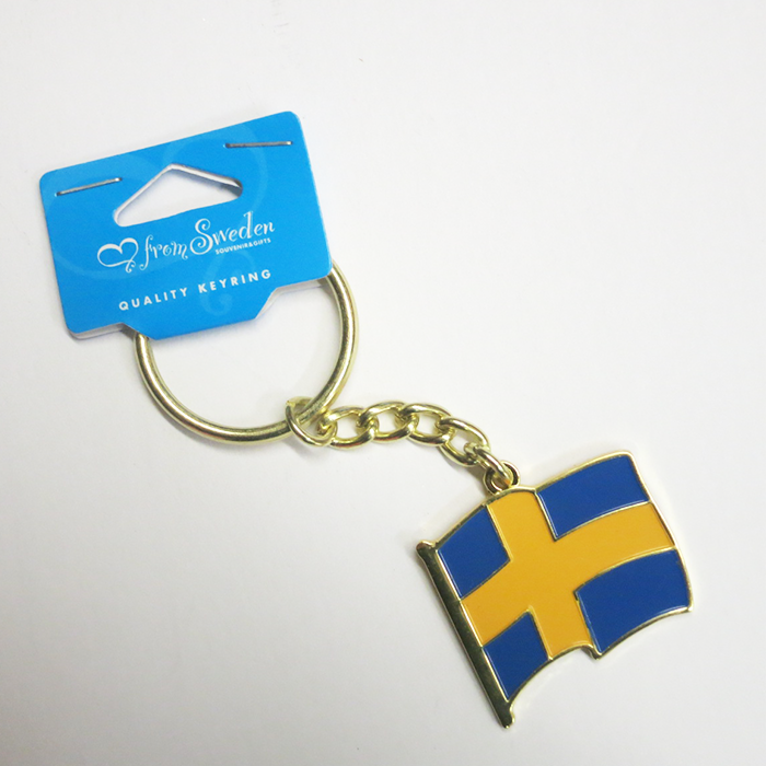 "Keychain ""Swedish Flag A"""