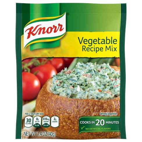 Vegetable Recipe Mix by Knorr (1.4oz)
