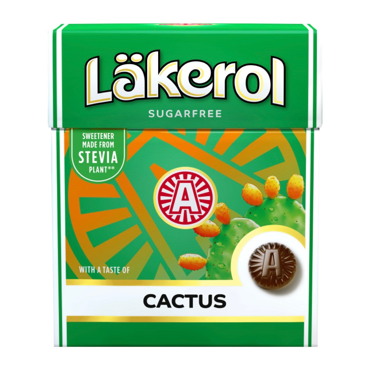 LÄKEROL of Sweden - Cactus sugarfree pastilles