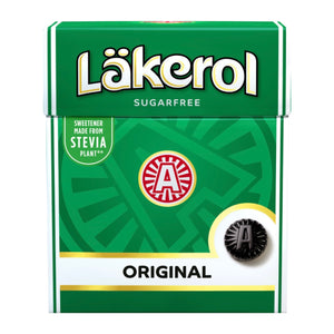 LÄKEROL of Sweden - Herb Menthol sugarfree dark green