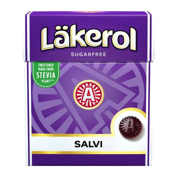 LÄKEROL of Sweden - Salvi sugar-free pastilles