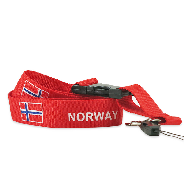 "Lanyard - ""Norway"""