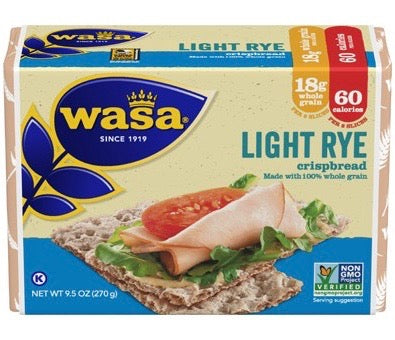 Wasa Light Rye - 8.8 oz