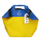 Scandinavian Specialties Shoulder Bag, Blue/Yellow - 21""