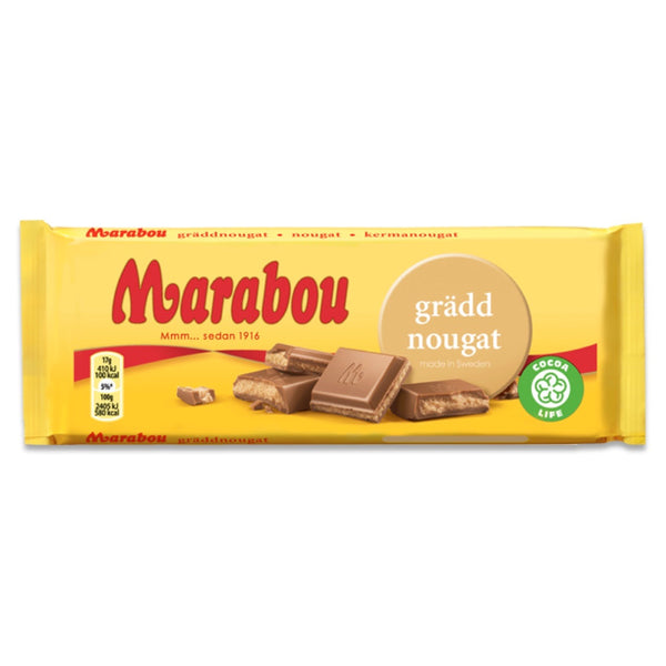 Marabou Milk Chocolate Cream Nougat (100g)