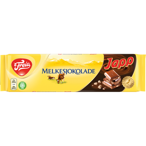 Freia of Norway - Melkesjokolade with Japp (200g)