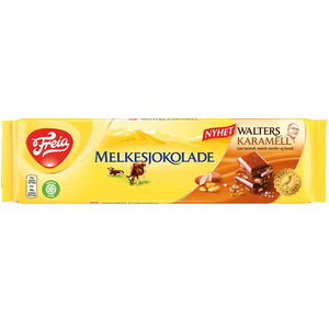 Freia of Norway - Melkesjokolade with Walters Caramel (200g)