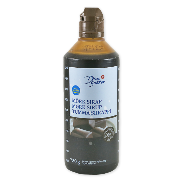 Mörk Sirap, Dark Baking Syrup (26oz)
