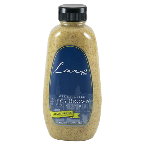 Spicy Swedish Mustard, 12 oz