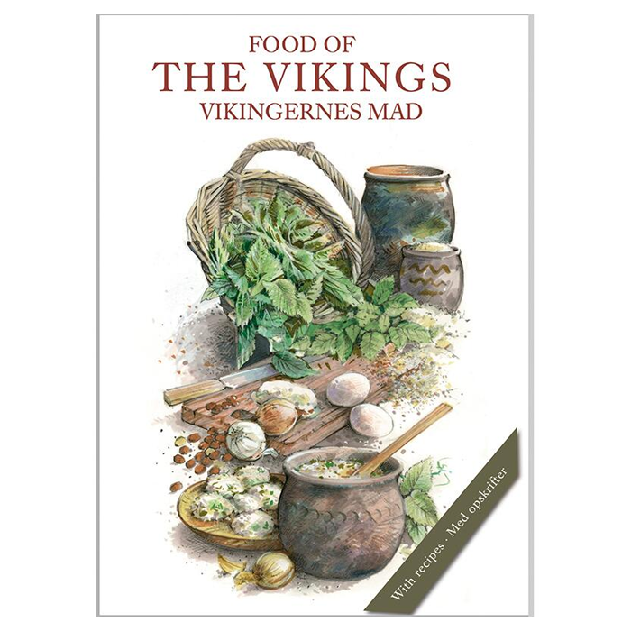 Food of The Vikings - 8 Cards (With Recipes)