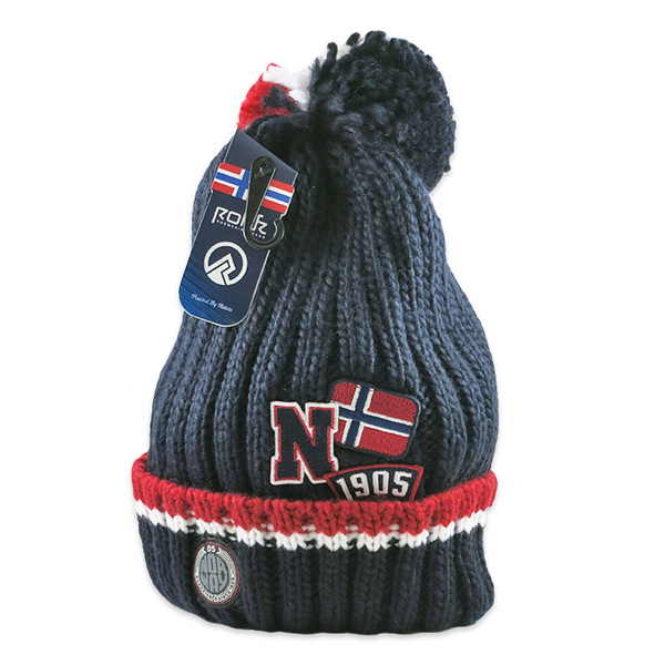 Knit Cap - Norway (Navy)