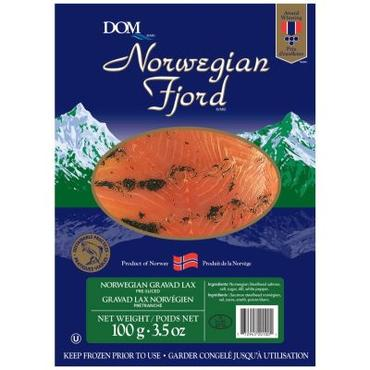 Gravad Laks, Smoked Salmon from Norway (3 Sizes)