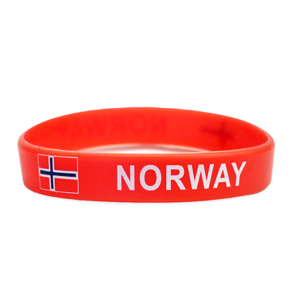"""Norway"" - Rubber Bracelet"