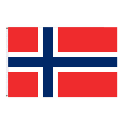 Norwegian Outdoor Flag - Nylon Material