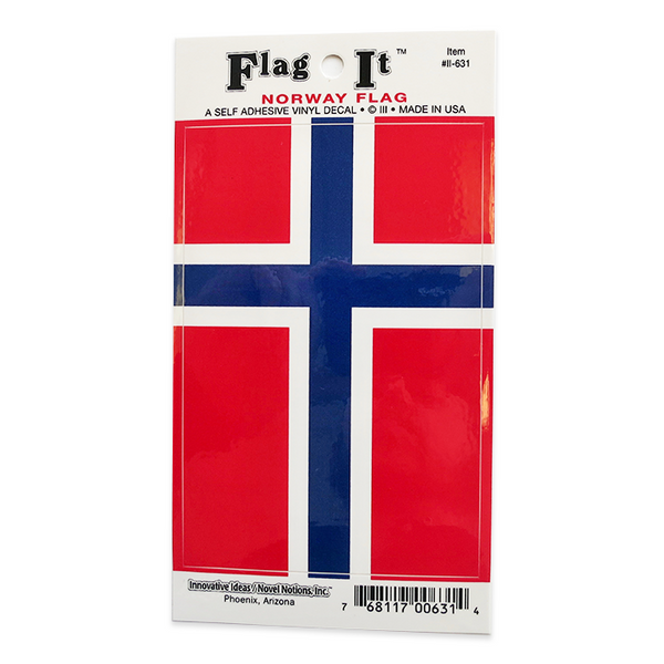 Flag Sticker - Norway (1)