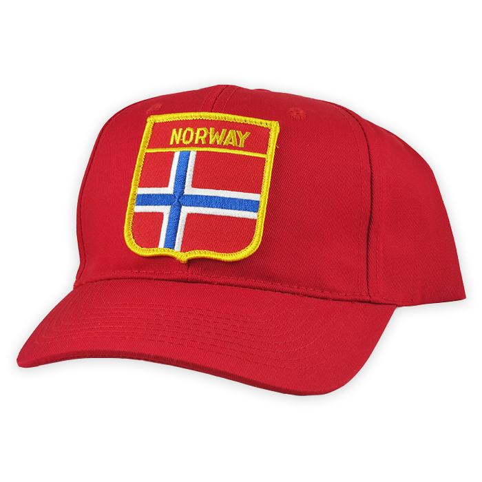 Baseball Cap - Norway, Shield Patch