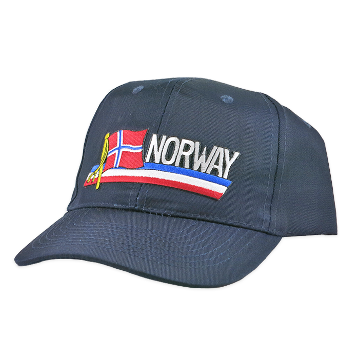 Baseball Cap - Norway, Strip Patch