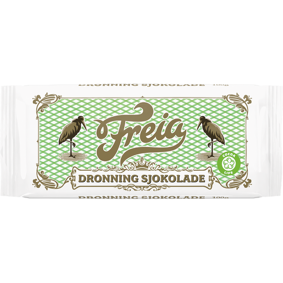 FREIA of Norway - Dronning Kokesjokolade (Queen Chocolate), 3.5oz