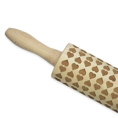 Engraved Heart Rolling Pin