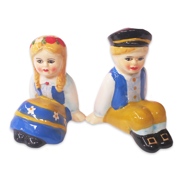 "S&P Shakers ""Swedish Couple/Sitting"""