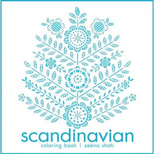 Scandinavian Coloring Book