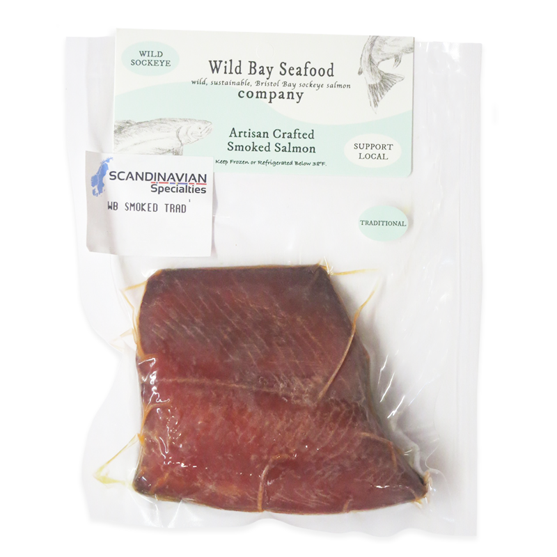 Smoked Sockeye, Traditional Style - Frozen