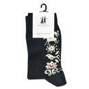 "B&L Socks ""Birds, Black"""