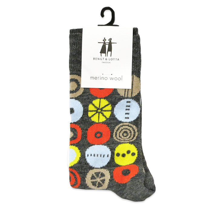 "B&L Socks ""Candy, Multi Dark"""