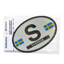 Oval Decal - Sweden