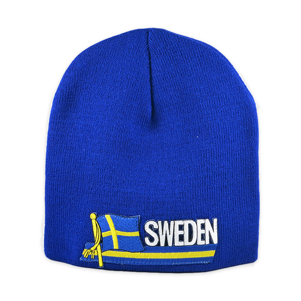 Knit Cap - Sweden, Strip Patch