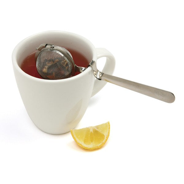 "Mesh Tea Ball (2"") w/ Cup Rest Handle"