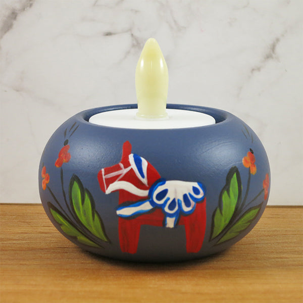 Tea Light Candle Holder (Handpainted)
