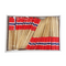 Norwegian Flag Toothpicks