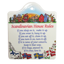 """Scandinavian House Rules"" Cheese Board"