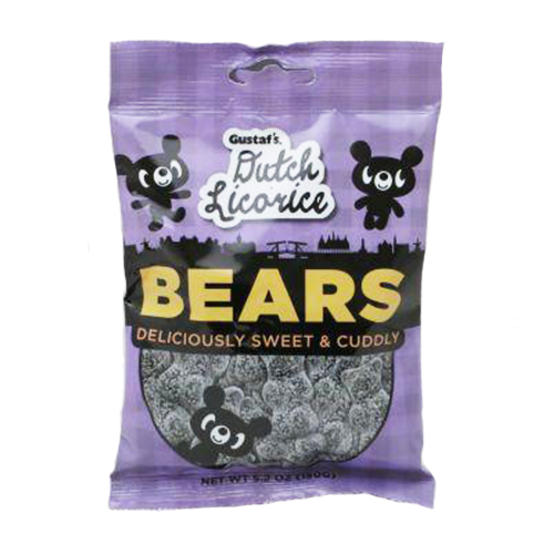 Dutch Licorice Bears