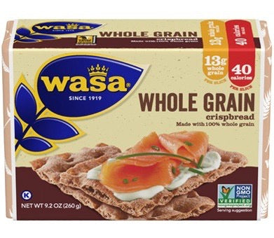 Wasa Whole Grain from Sweden, 8.8 oz