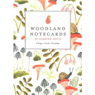 Woodland Notecards by Kirsten Sevig
