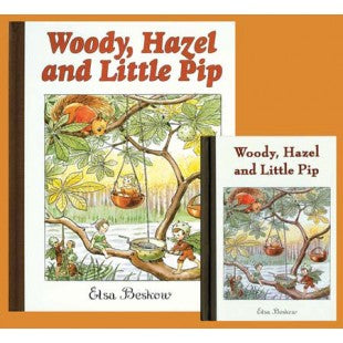 Woody, Hazel, and Little Pip, by Elsa Beskow