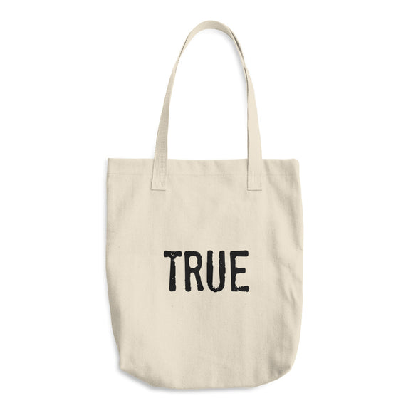 TRUE Cotton Tote Bag