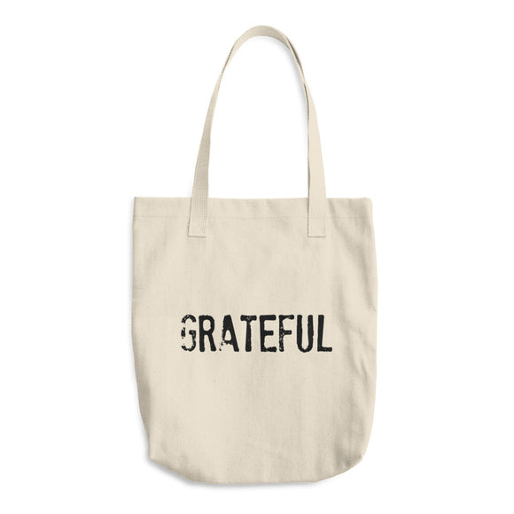 GRATEFUL Cotton Tote Bag