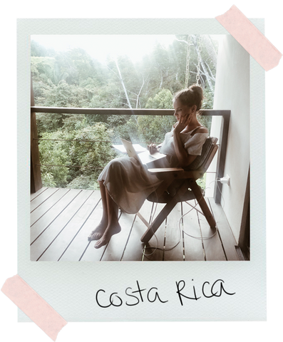 Mini Kyomo's founder Isabelle in Costa Rica