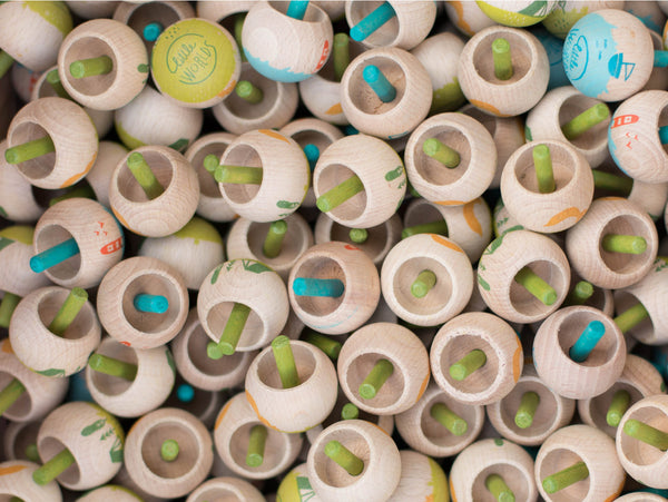 Sustainable made Londji Spinning Tops