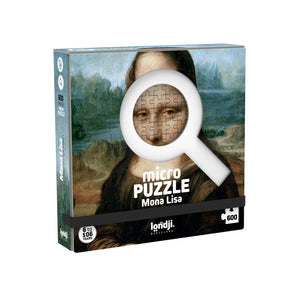 Micro Puzzle Mona Lisa (600 pieces) by Londji